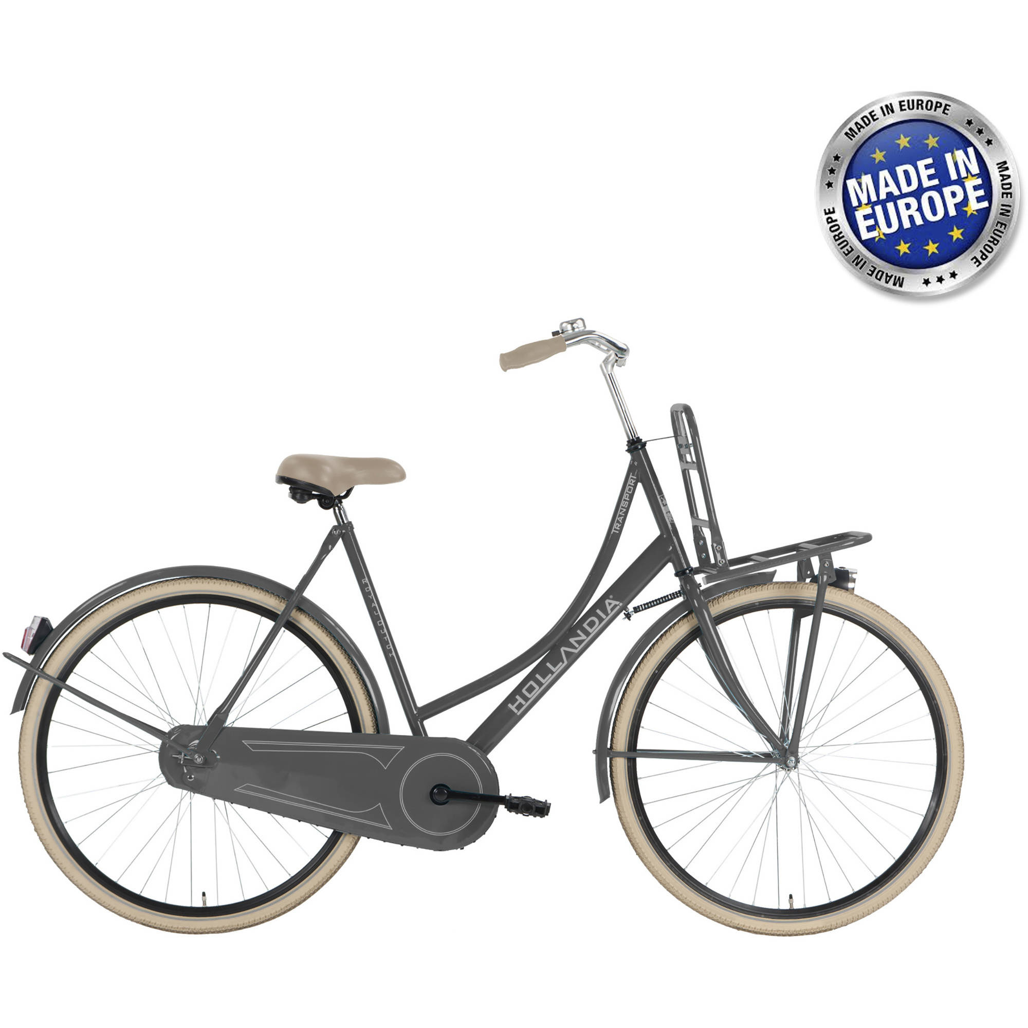Hollandia Transport Grey 700C City Dutch Bicycle