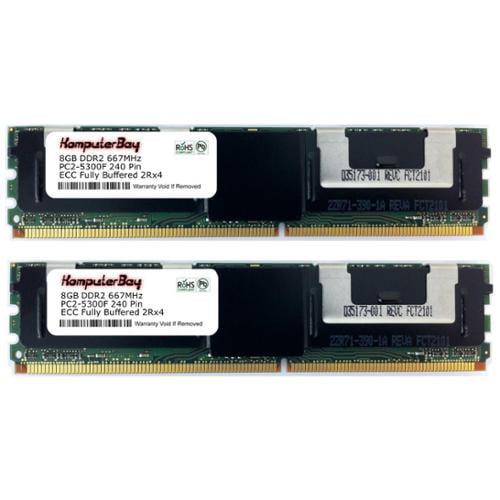 Komputerbay 16GB DDR2 SDRAM Memory Module - 16GB (2 x 8GB...