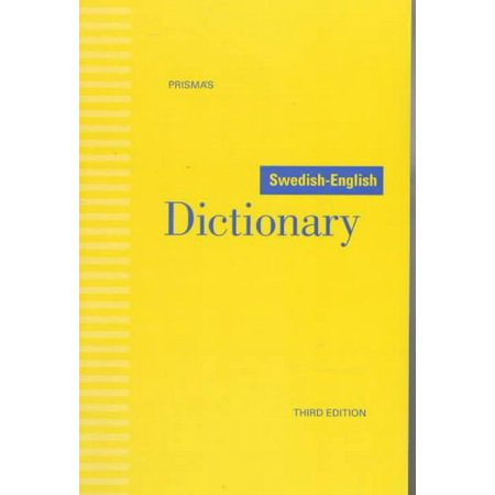 Swedish-English dictionary