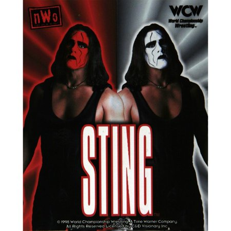 WCW - Sting Heaven and Hell Decal](Wdw Halloween)