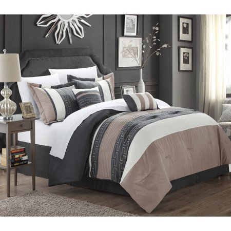 Chic Home Carlton Comforter Set Walmartcom