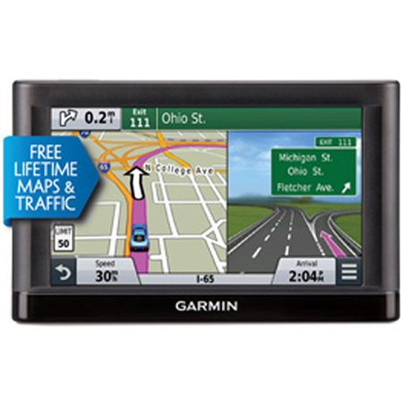 Garmin Nuvi 65lmt 6 Inch Gps With Lifetime Maps And