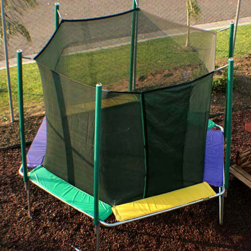 Kidwise Jumpfree 15 Ft Trampoline And Safety Enclosure: Kidwise Magic Circle Octagon 16-ft. Trampoline With