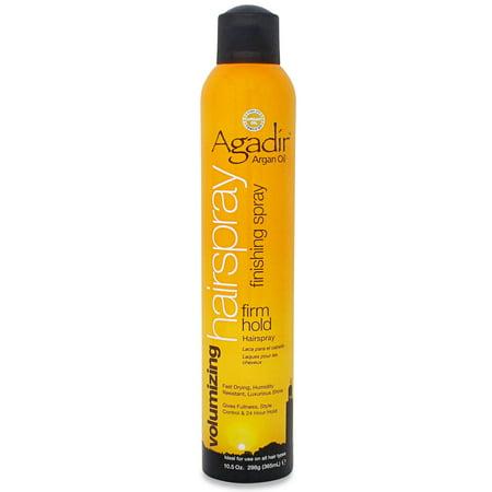 Agadir Finishing Firm Hold Hair Spray 10.5 Oz Extra Firm Finishing Spray