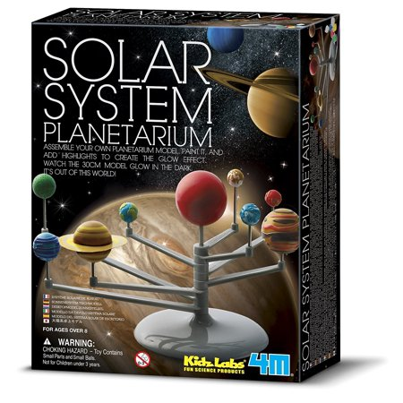 Solar System Planetarium  System Ball Water New New Labs Moon Stars Explorations Motorized Glow Learning Rover Experiment Hanging Build Solar 4M Model    By 4M