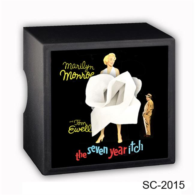 Caravelle Designs SC-2015 7 Year Itch Square Tissue Boxes