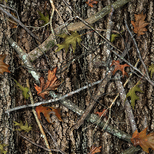 Springs Creative True Timber Camo 100% Cotton Fabric by the Yard, Conceal Brown