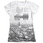 Woodstock Crowd Juniors Sublimation Shirt