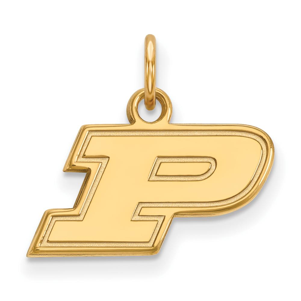 Purdue Extra Small (3/8 Inch) Pendant (14k Yellow Gold)