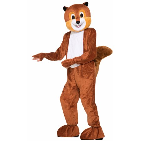 Mens 42-44 Scamper the Squirrel Parade or School Plush Mascot Costume - Halloween Parade Times Square