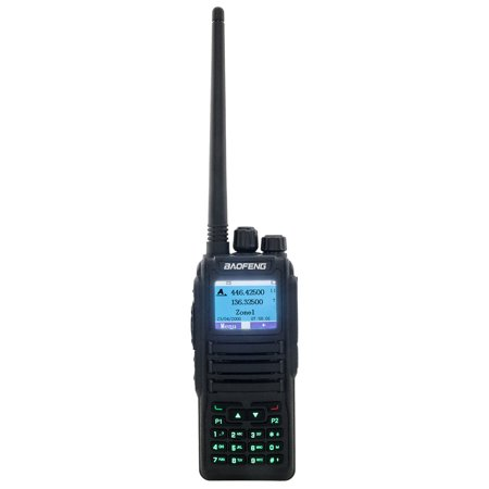 Zimtown Baofeng DM-1701 Dual Band DMR Digital Radio Walkie Talkie Black (Walky Talky Marine Band)