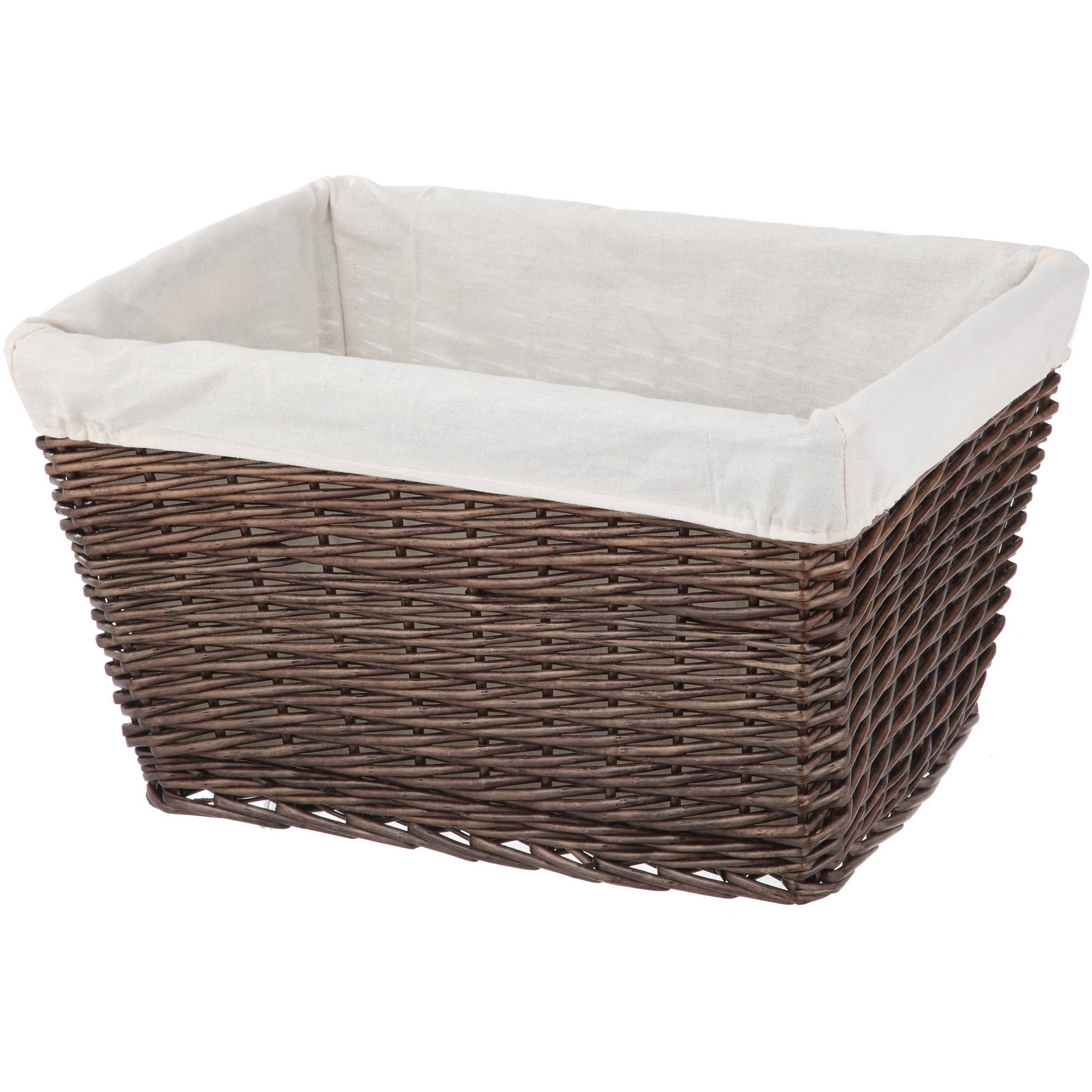 Better Homes and Gardens Willow Large Tapered Basket