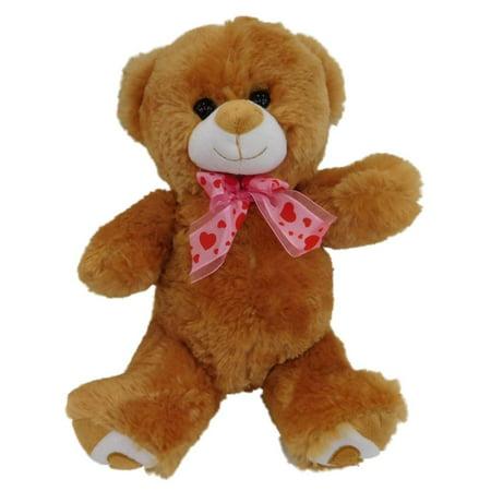 Valentines Day Brown Teddy Bear Stuffed Animal 11