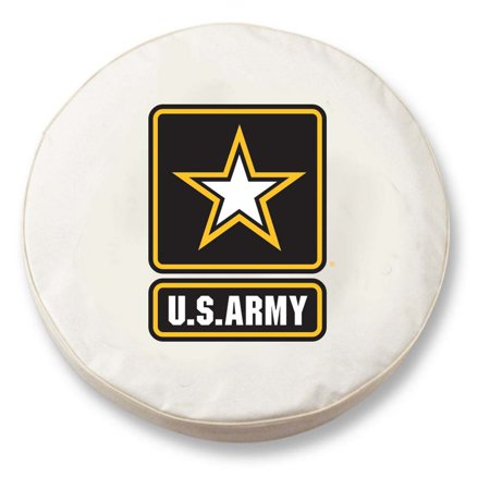 US Army Large Tire Cover (White)