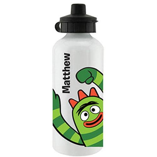 Personalized Yo Gabba Gabba! Brobee White Sports Bottle
