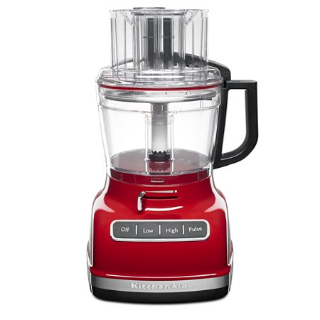 KitchenAid ® 11-Cup Food Processor with ExactSliceâ ¢ System, Empire Red (KFP1133ER)