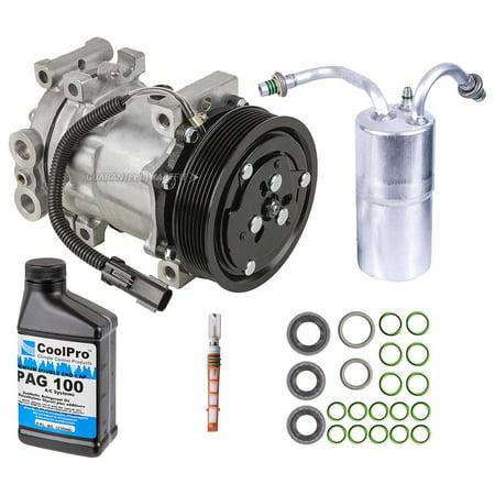 AC Compressor w/ A/C Repair Kit For Dodge Ram 1500 2500 3500