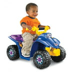 Fisher-Price Power Wheels Lil' Quad 6-Volt Battery-Powered Ride-On