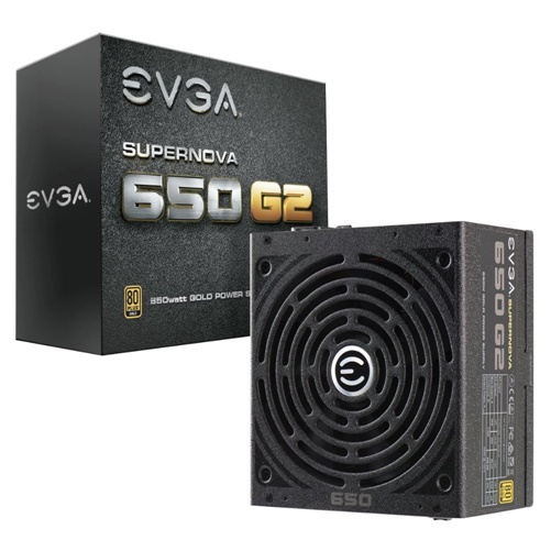 EVGA SuperNOVA 650 G2 Gold Certified Fully Modular Power Supply by EVGA