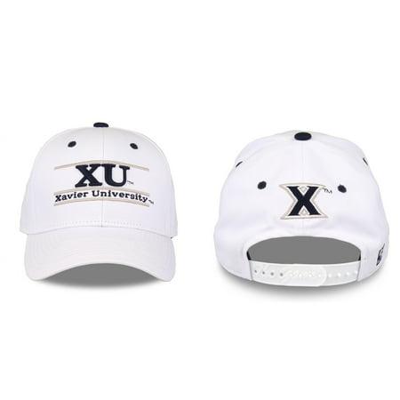 Xavier Musketeers Adult Game Bar Adjustable Hat - White](Three Musketeers Hats)