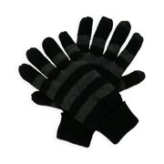 American Rag Mens Striped Knit Gloves