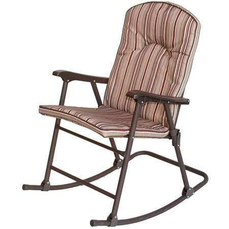 Red Cedar Adirondack Rocking Chair - Prime Products Cambria Padded Rocker, Red Rock, 13-6803