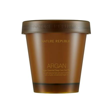 - NATURE REPUBLIC Argan Essential Deep Care Hair Pack