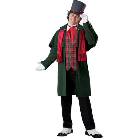 // Yuletide Gent Christmas Caroler Costume// ()