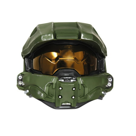 Master Chief Lightup Mask Child Halloween Accessory