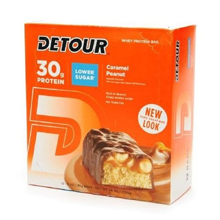 Detour Crml Pnut Bar Cadd Size 12Ct Detour Carmel Peanut Bar Caddy 12Ct