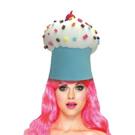 Cupcake Adult Foam Costume Hat - One Size (Cupcake Costume Diy)