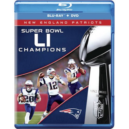 Nfl Super Bowl 51 Champions  Blu Ray   Dvd