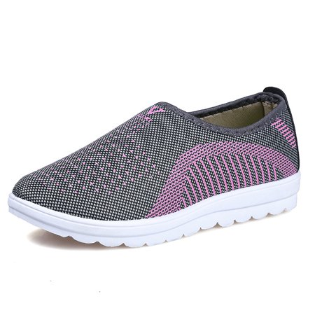 women's breathable mesh sports shoes casual athletic beach