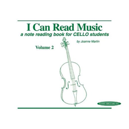 I Can Read Music, Vol 2 : A Note Reading Book for Cello Students - Halloween Music For Students