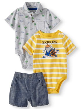 ae8c5c7152231 Product Image Baby Boys  Printed Polo