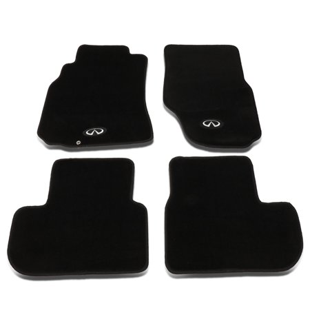 NRG Innovations FMR -600 For 2003 to 2007 Infiniti G35 Coupe 4Pcs Floor Mats Pads Carpet (Front+Rear) 04 05 06 2006 Infiniti G35 Coupe Horsepower