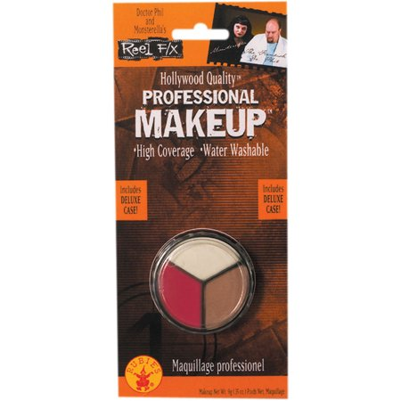 Professional White, Flesh and Red Makeup Rubies 68747