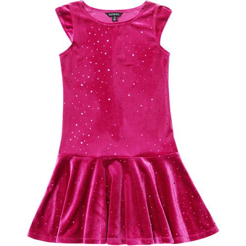 George Girls' Drop Waist Dress