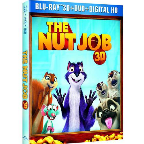 The Nut Job (3D Blu-ray + Blu-ray + DVD + Digital HD) (With INSTAWATCH) (Widescreen)