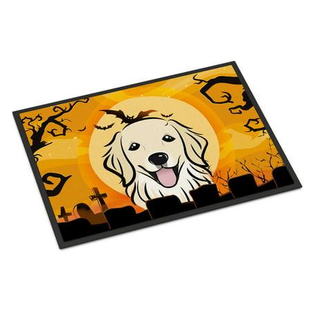 Halloween Golden Retriever Door Mat - Halloween Math Ideas For Preschoolers