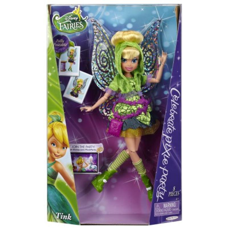 "Disney Fairies Pixie Party Tink 9"" Fashion Doll by Jakks Pacfic Inc."