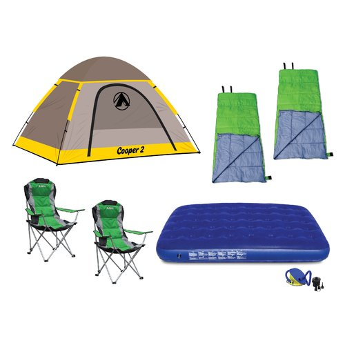 GigaTent Camping Set Bundle 1