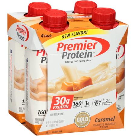 Premier Protein  Caramel High Protein Shake 4 11 Fl  Oz  Aseptic Cartons
