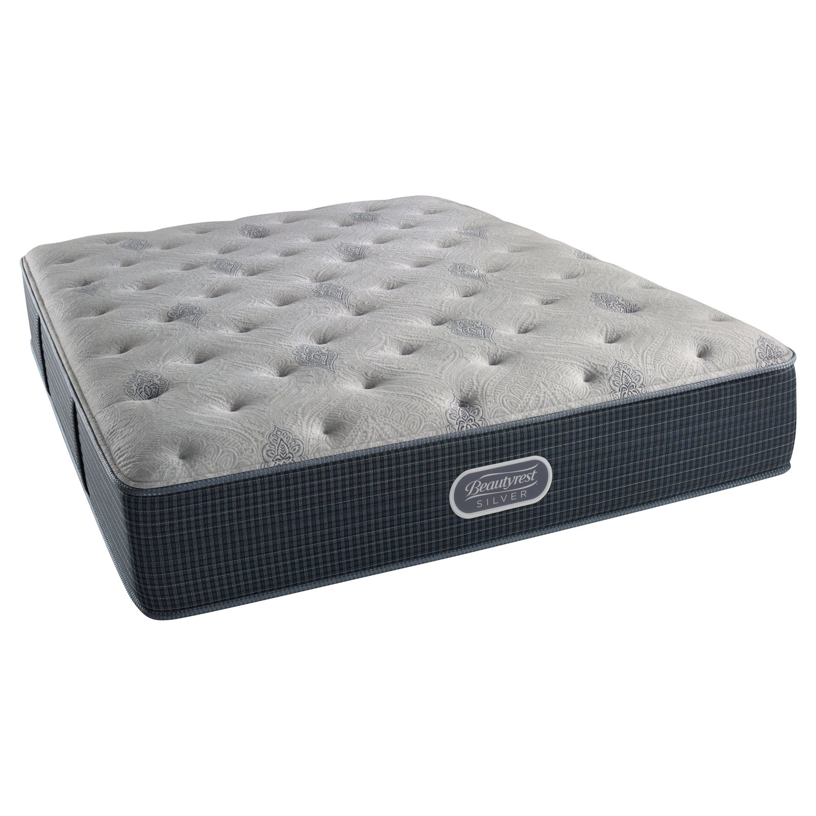 Beautyrest Silver Brewer Plush Mattress Set- In Home White-Glove Delivery Included & now