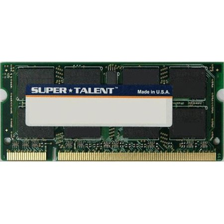 1gb Samsung Chip Notebook Memory (Super Talent T800SA1G-SZ DDR2-800 MHz SODIMM 1GB 128M x 8 Chip Notebook Memory )