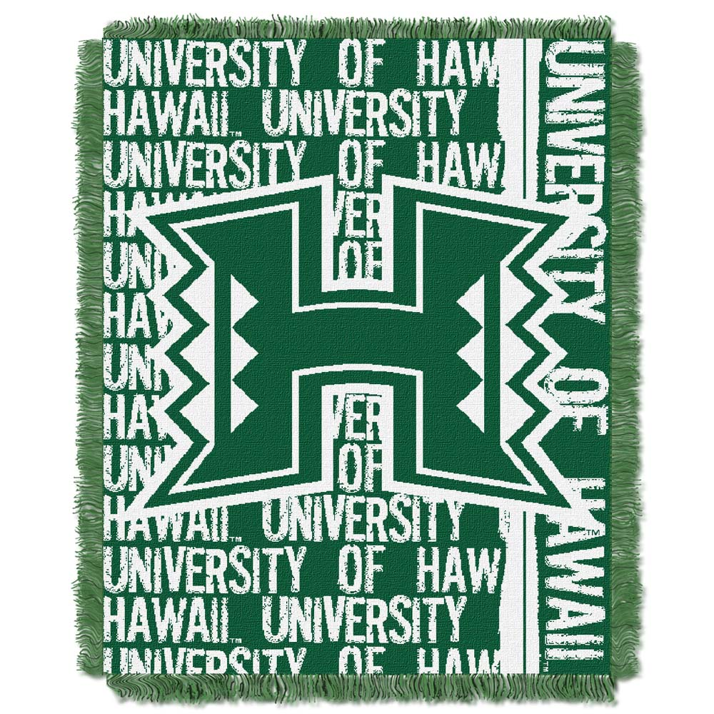 Hawaii Jacquard Woven Throw Blanket