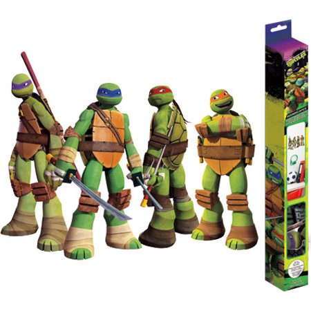 Decal - TMNT 18X24 Stickers Kids Games Toys New (Ninja Tmnt Games)