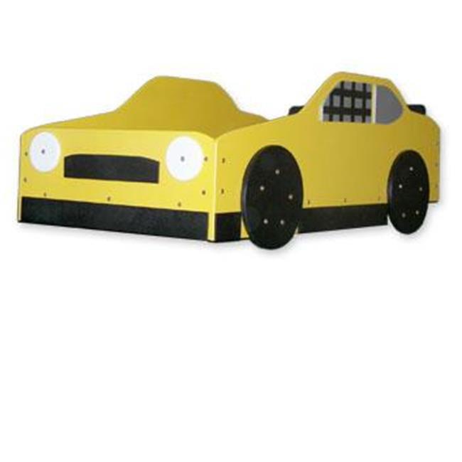 Just Kids Stuff Stock Car Racer Bed Blue