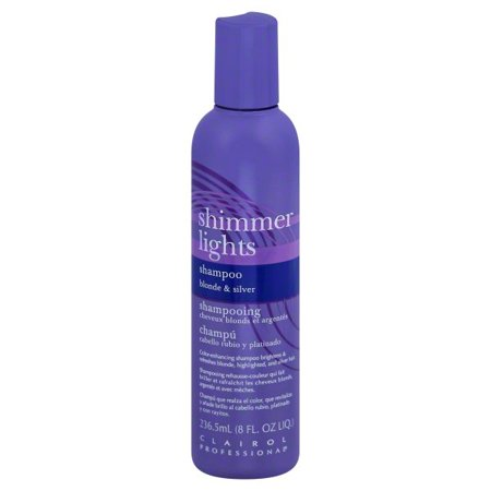 Clairol Professional Shimmer Lights Shampoo, Blonde & Silver 8