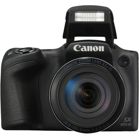 - Canon PowerShot SX420 IS Digital Camera - Black